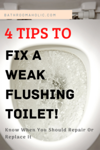4 Tips to fix a slow flushing toilet