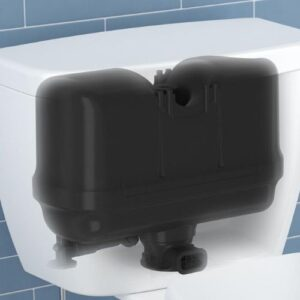 Pressure Assist Toilet Tank