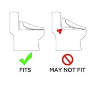 bidet for one piece toilet