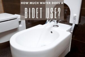 how much water does a bidet use