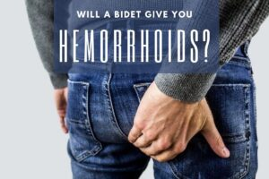 will a bidet give you hemorrhoids